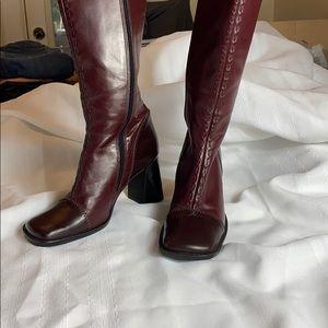 Maripè Simone heeled leather boot Sz 7.5